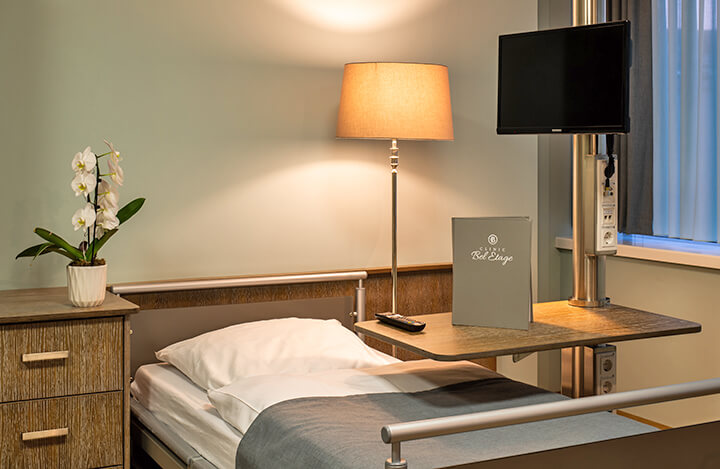 Zimmer in der Clinic Bel Etage