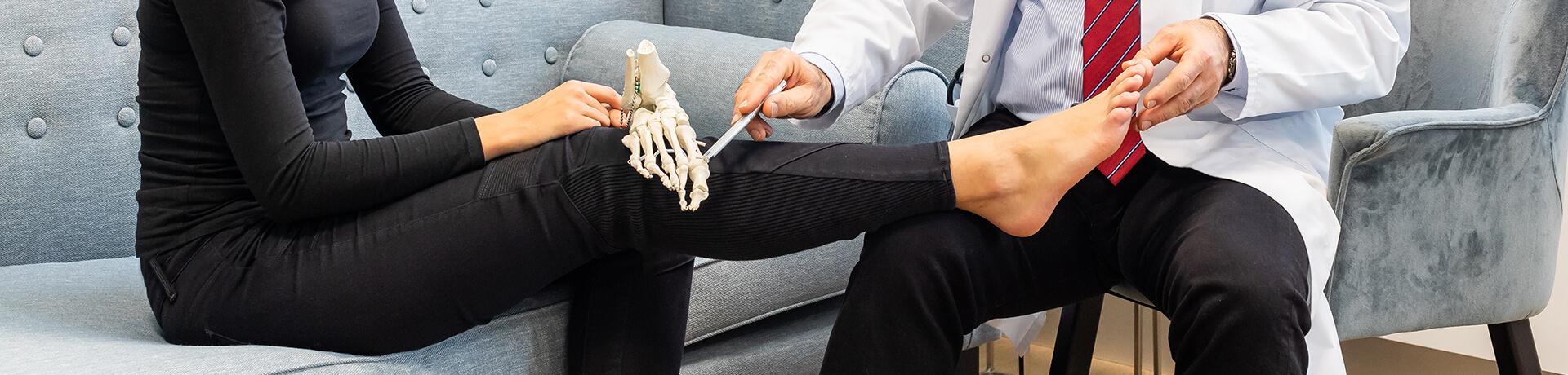 Fußchirurgie in der Clinic Bel Etage Düsseldorf