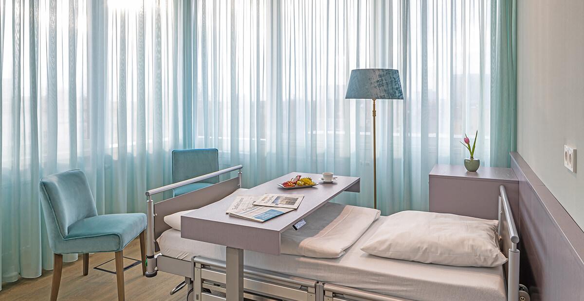 Ambiente in der Privatklinik Düsseldorf